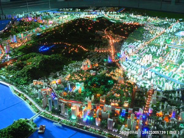 上海工业沙盘模型
