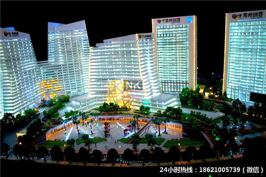 上海数字科技模型